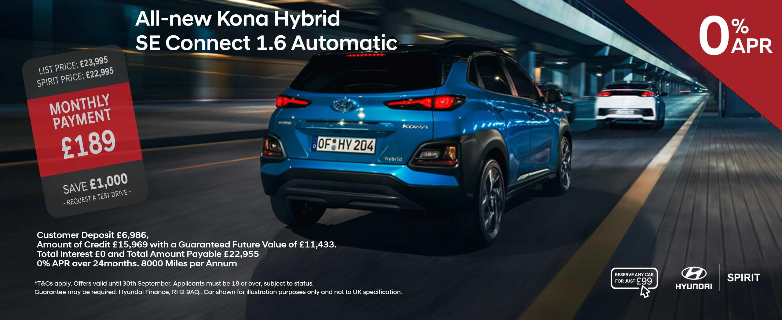 All-New KONA Hybrid