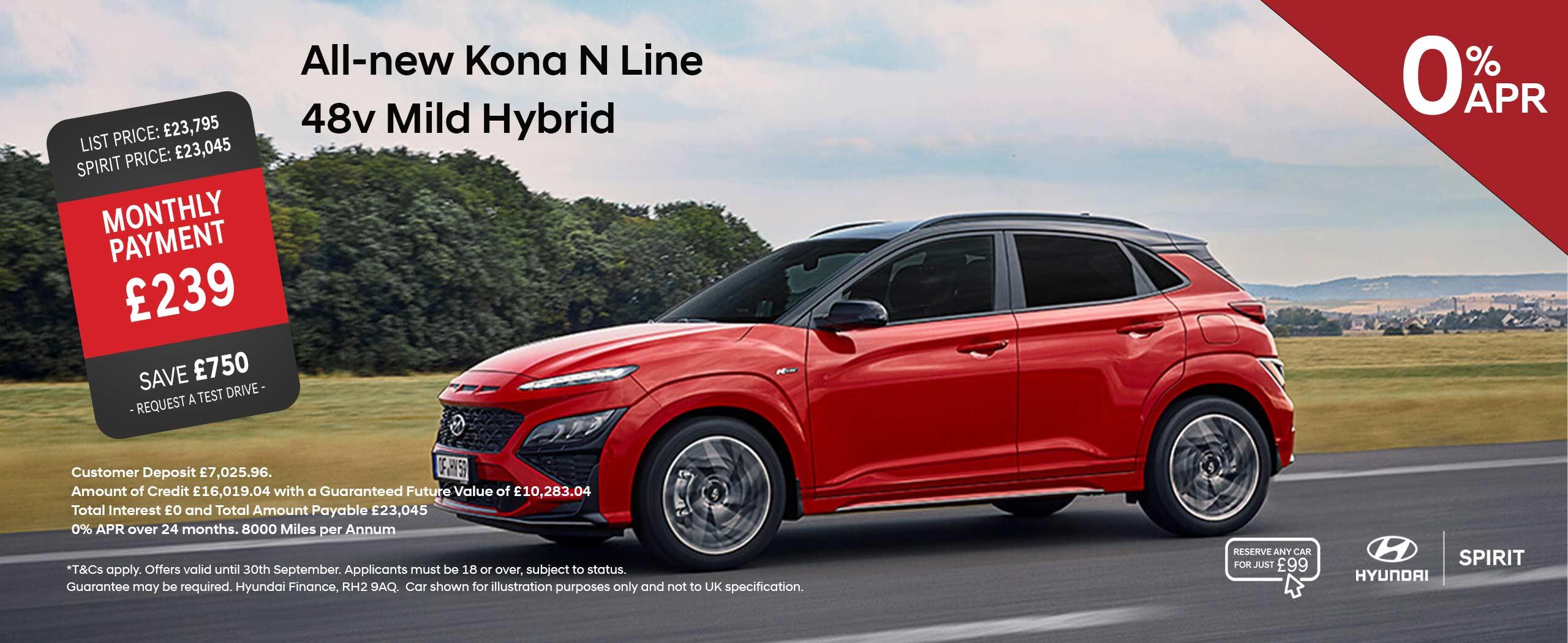 All-New Kona N-Line