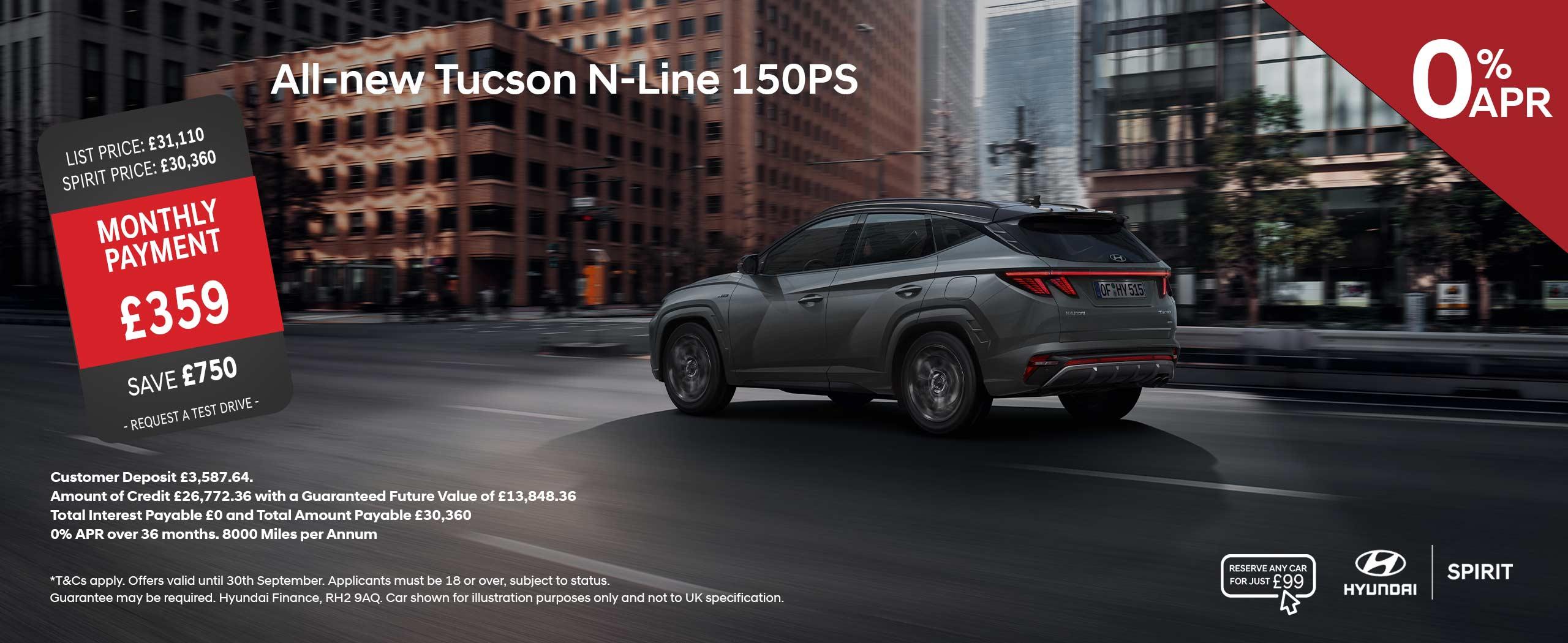 All-New Tucson N-Line