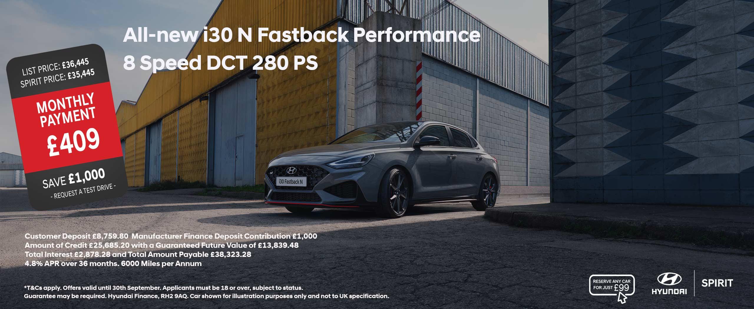 All-new i30 N Fastback